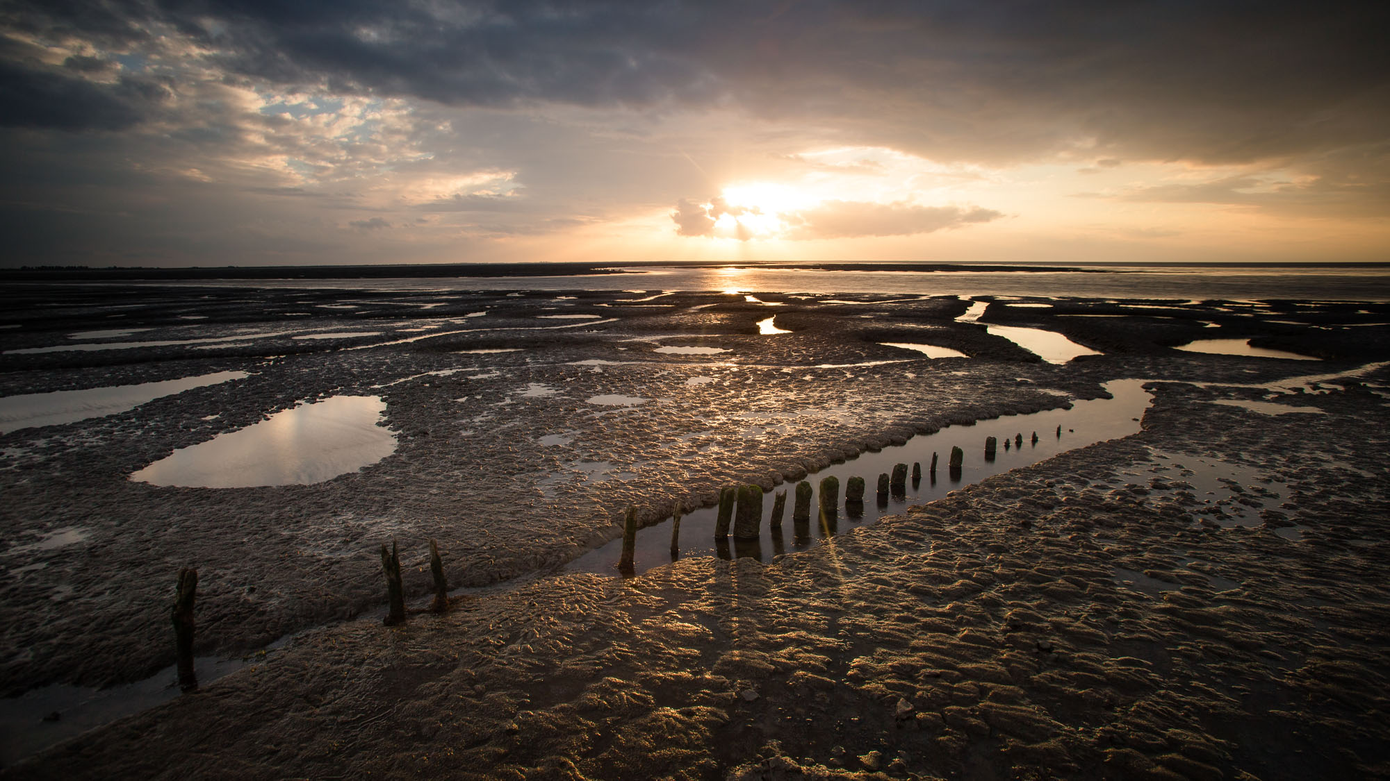 Mudflats, The Wash, Norfolk