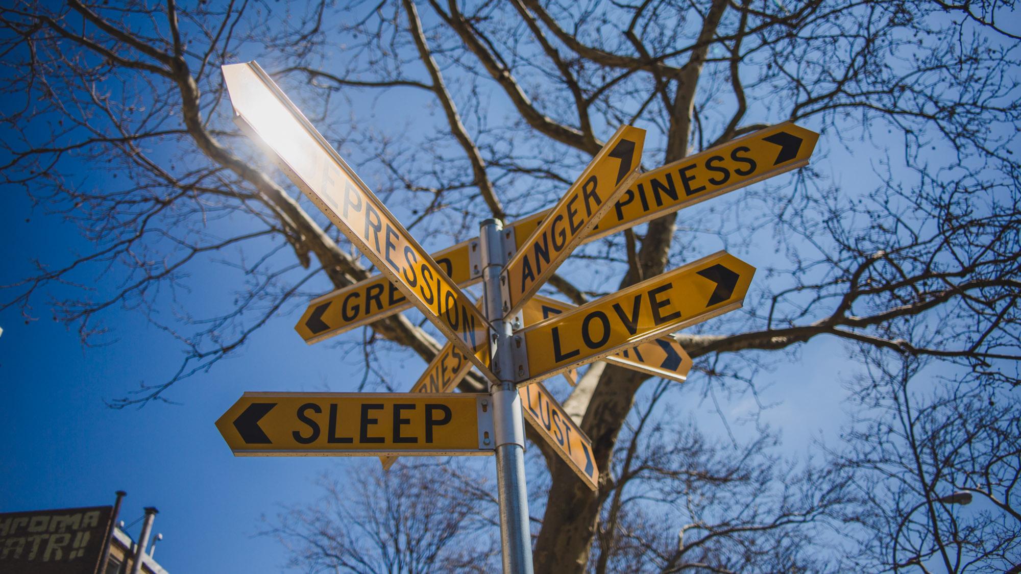 Signpost, New York