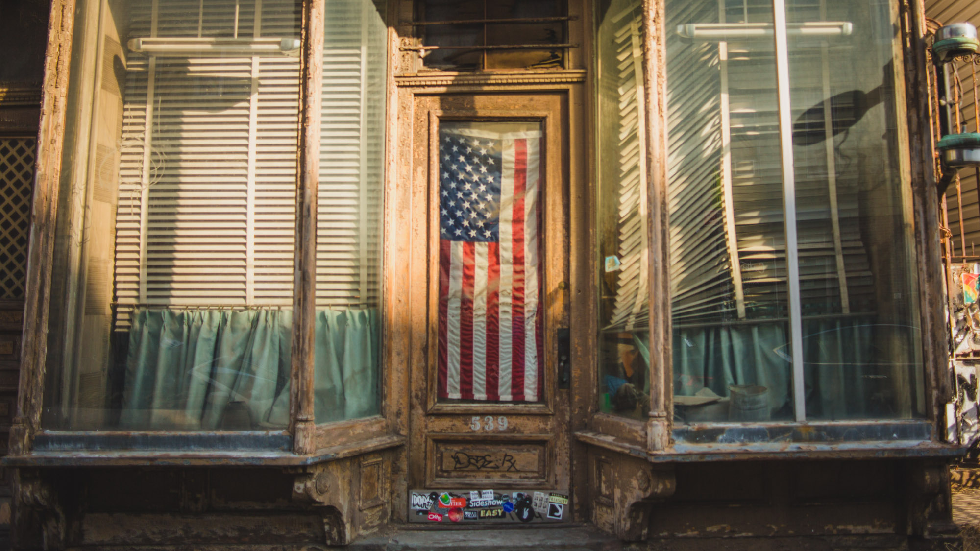 Old Shop Front, New York